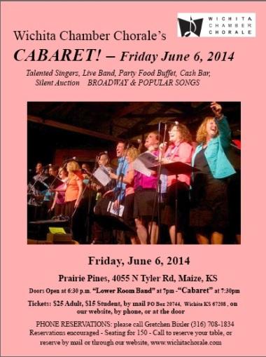 Cabaret flyer 2014