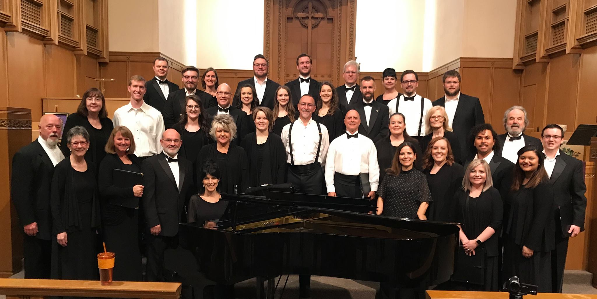 Wichita Chamber Chorale, Spring 2019, Dr Mariana Farah, Guest Conductor